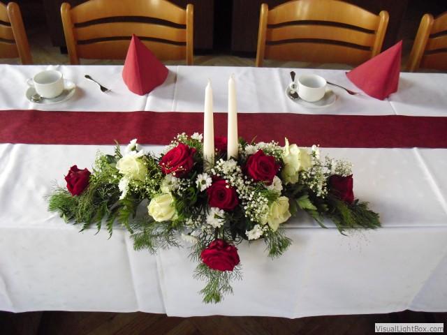 Floristik Reinsch Hochzeit Tischschmuck